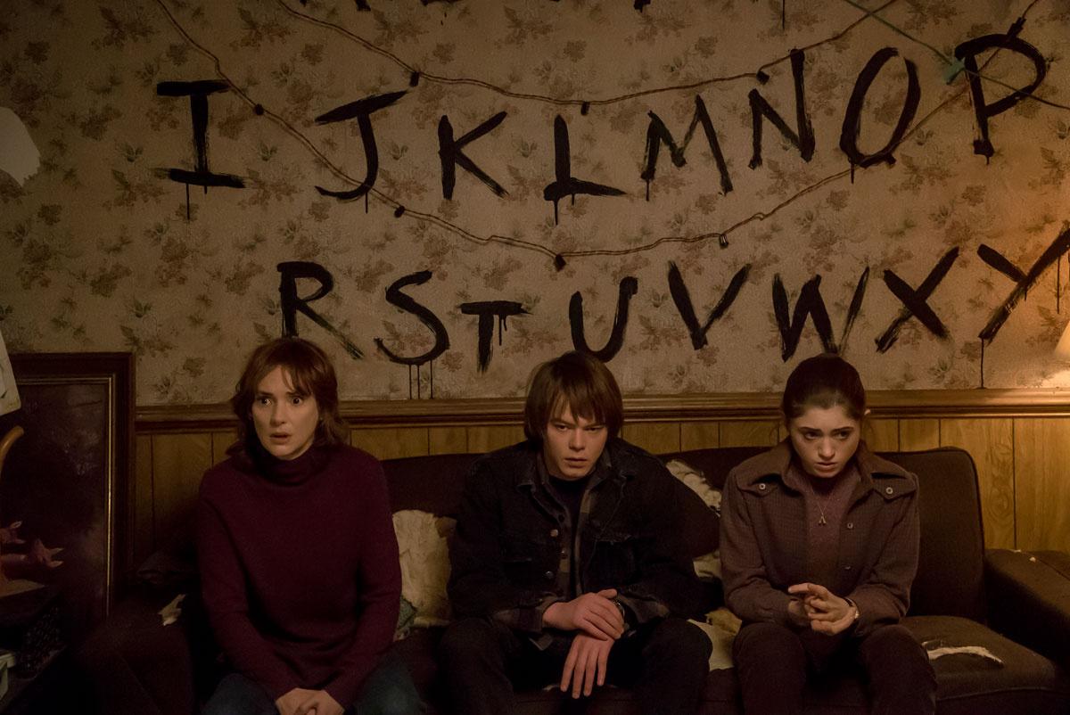 """Los protagonistas de """"Stranger Things"""""""
