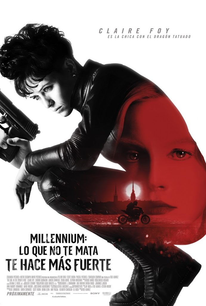 Millennium: lo que no te mata te hace más fuerte - Poster