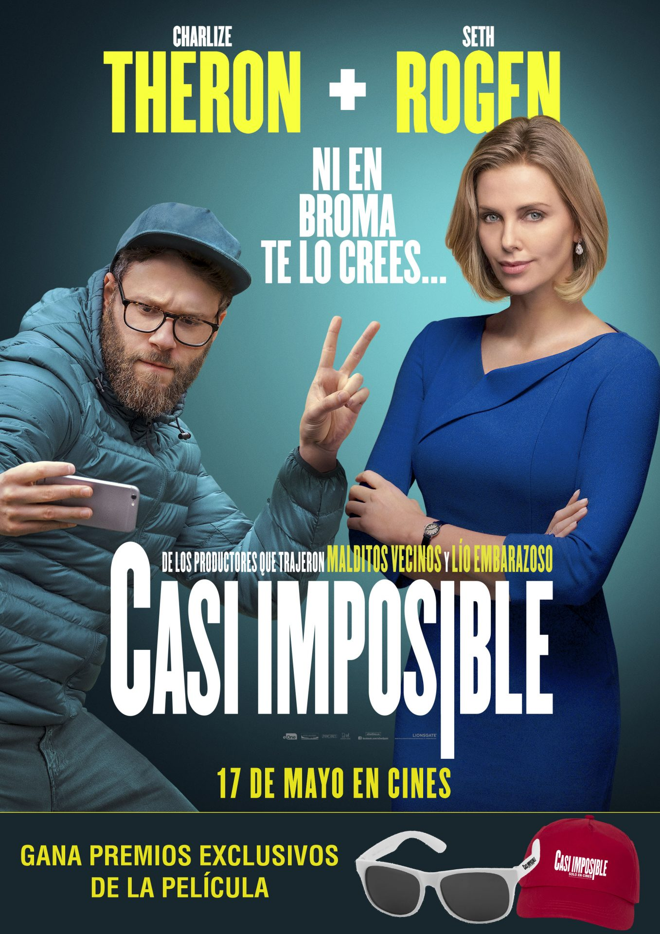 Image result for SORTEO CASI IMPOSIBLE GAFAS