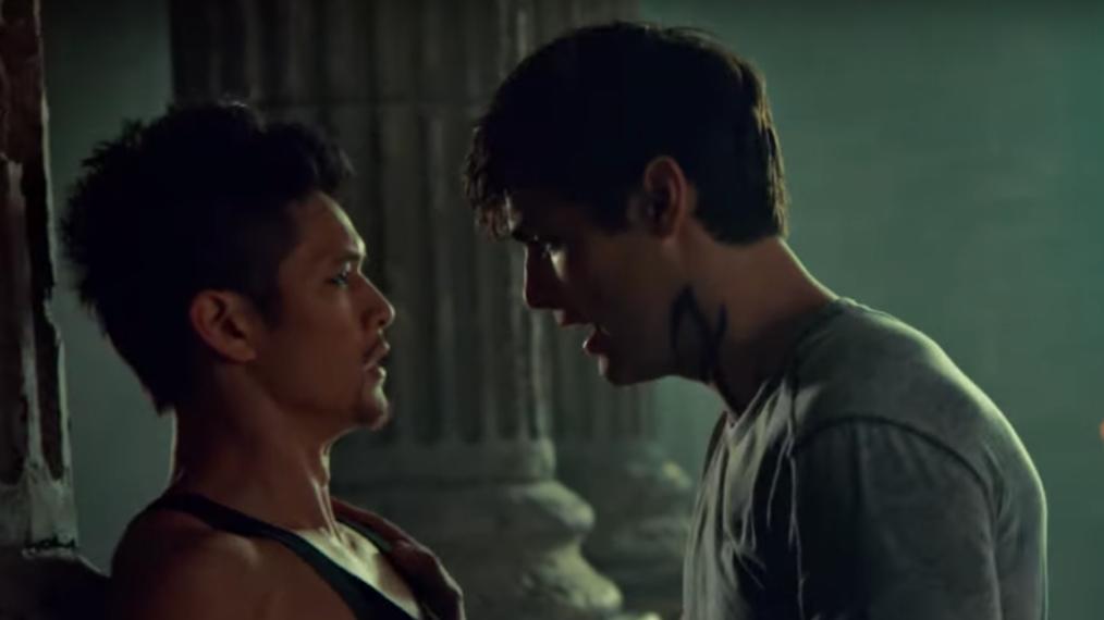 Alec y Magnus