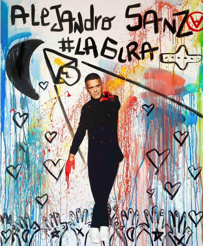 Cartel de #LaGira de Alejandro Sanz