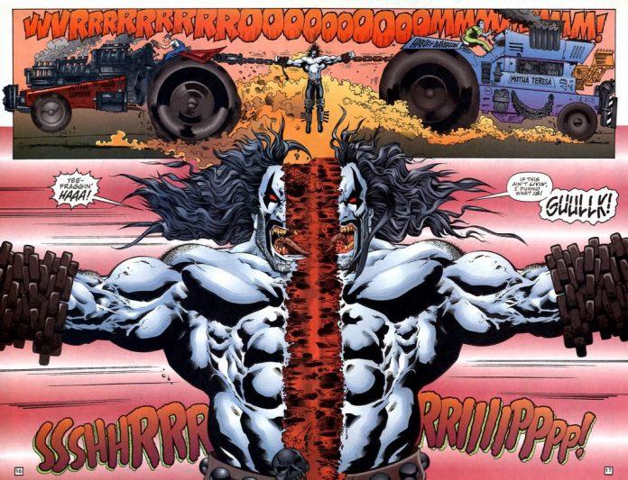 Lobo DC Comic Gore