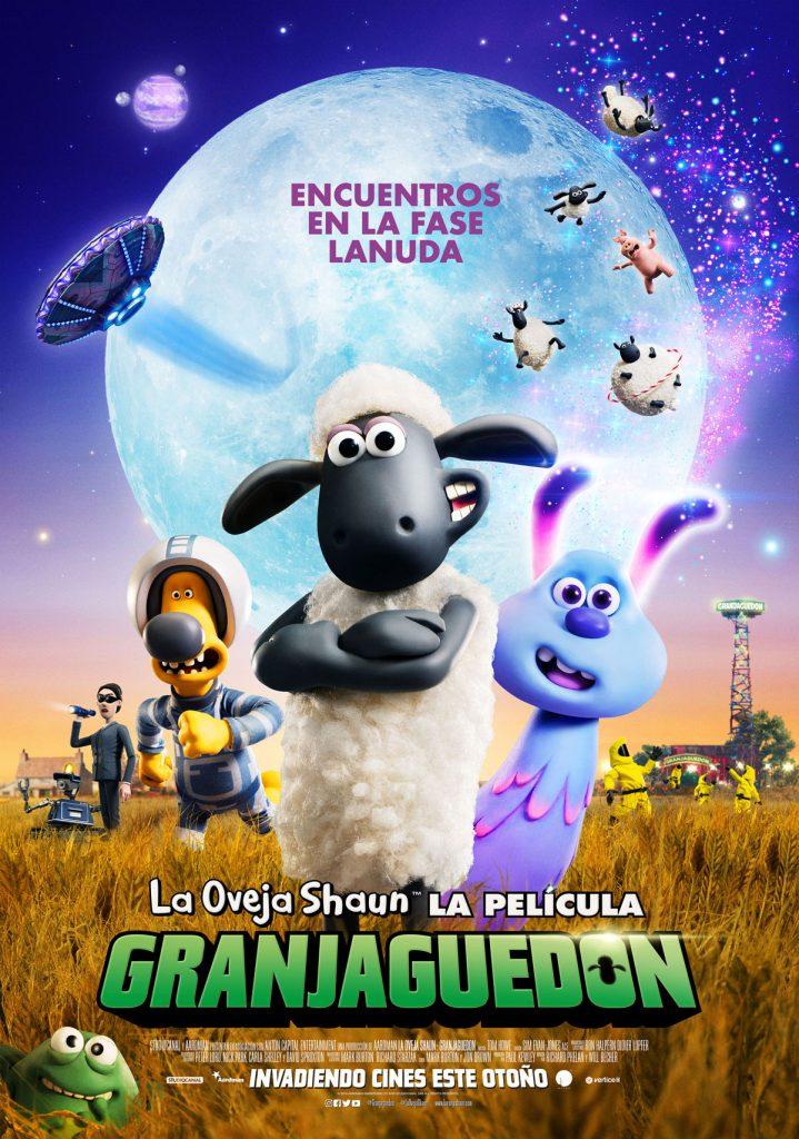 La Oveja Shaun - Poster